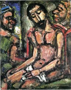 Christ aux outrages ROUAULT 1932- HD11Mo